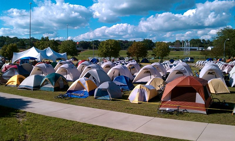 Tent City in Sioux City