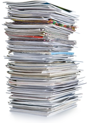 Tall Stack of Papers